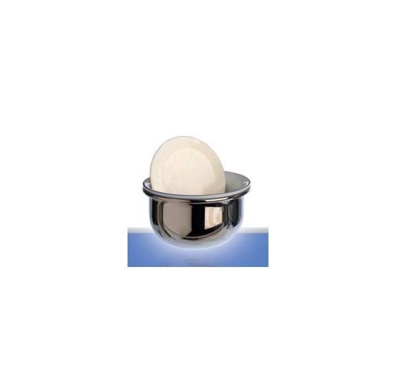 Bol à raser de luxe PLISSON porcelaine & nickel