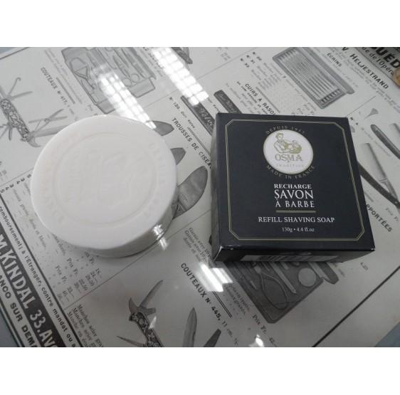Savon à barbe OSMA recharge pour pot en verre