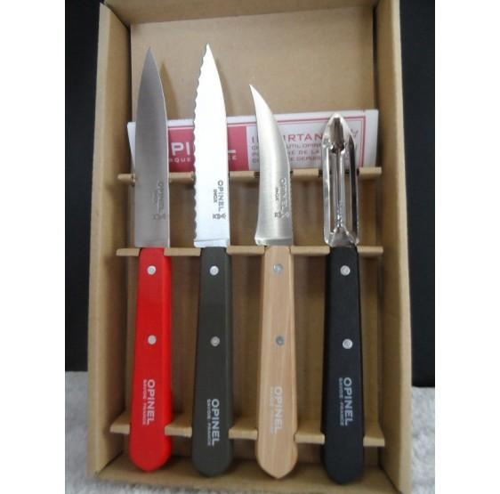 Coffret 4 couteaux les essentiels par OPINEL