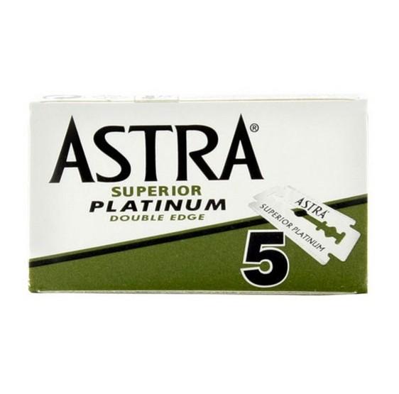 Lames de rasoir ASTRA PLATINIUM Par 5