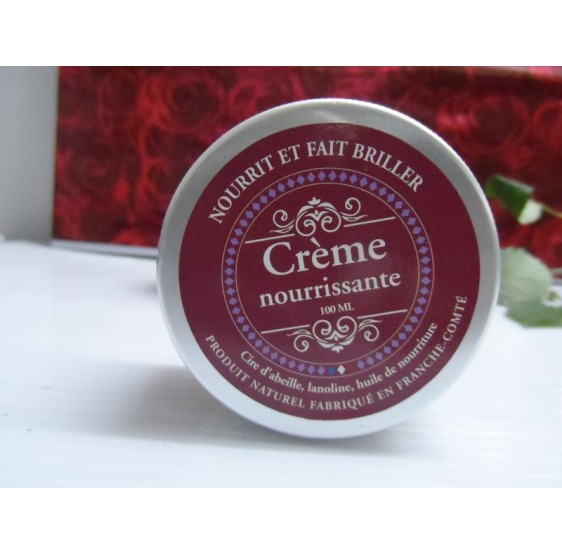 crème nourrissante pour cuir à 100% naturelle