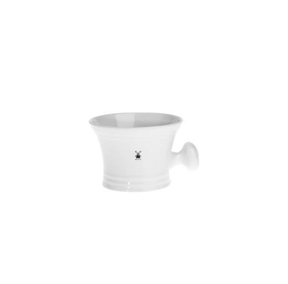 Shaving mug MÜHLE white color