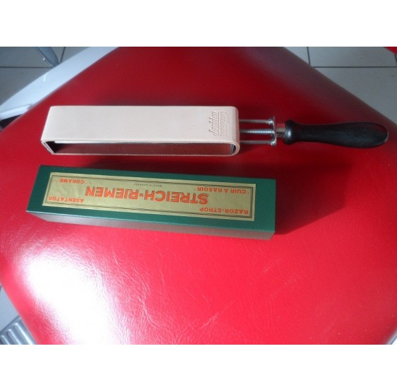 HEROLD RAZOR SHARPENING LEATHER STROP