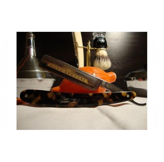 "' DOVO-SPECIAL "" straight razor 5/8 tortoise shell imitation"