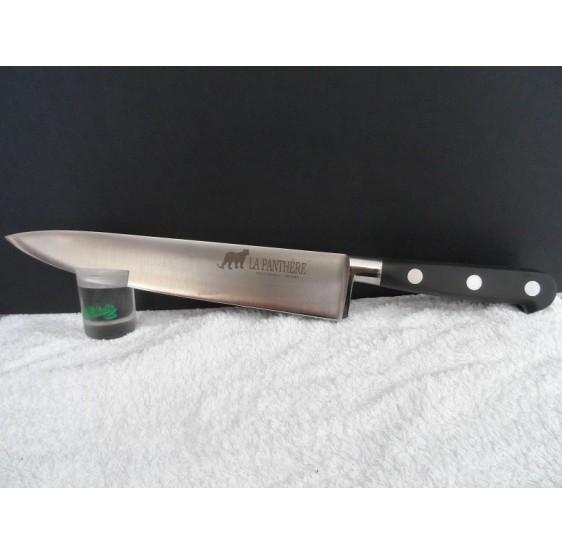 Couteau forgé de Chef  LA PANTHERE 20cm