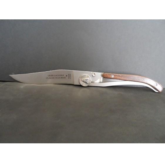 Couteau Laguiole par Dozorme palissandre
