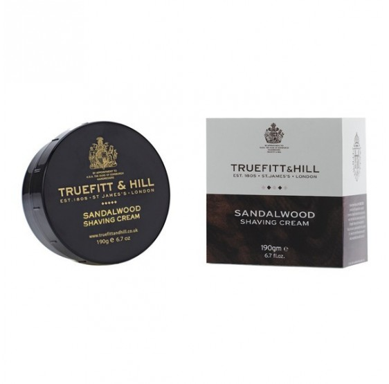 Truefiit & Hill shaving soap, sandalwood