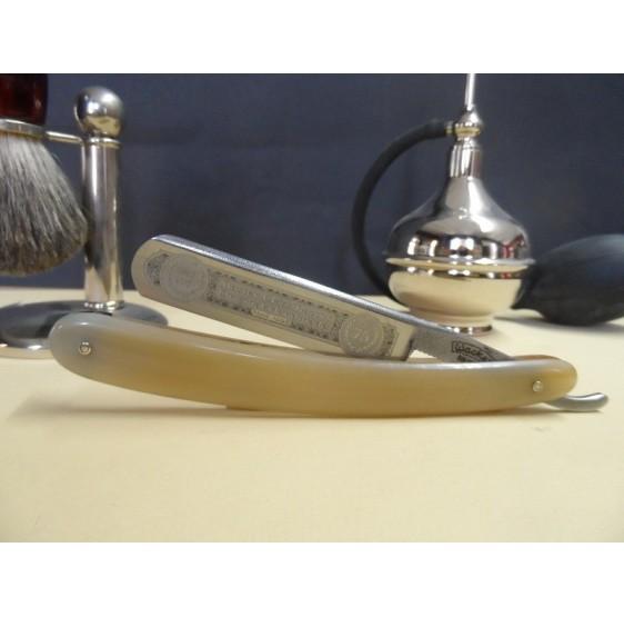 """Wacker razor """" JUBILAUM 1940-2015 """" 5/8 black horn"""
