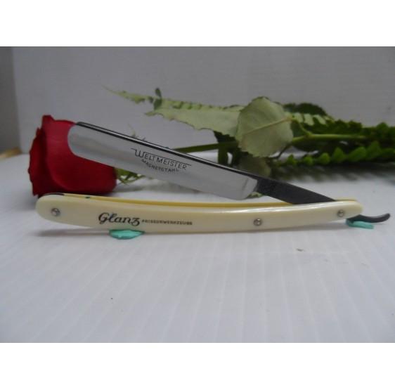 WELTMEISTER 3/8  original straight razor NOS