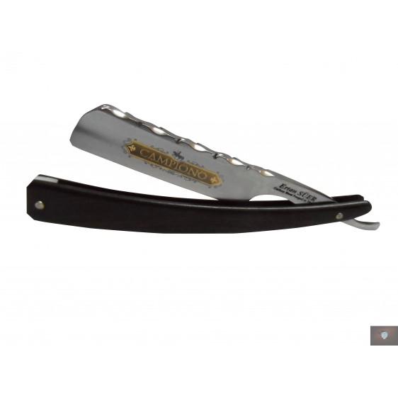 CAMPIONO razor 6/8 back engraved blackwood