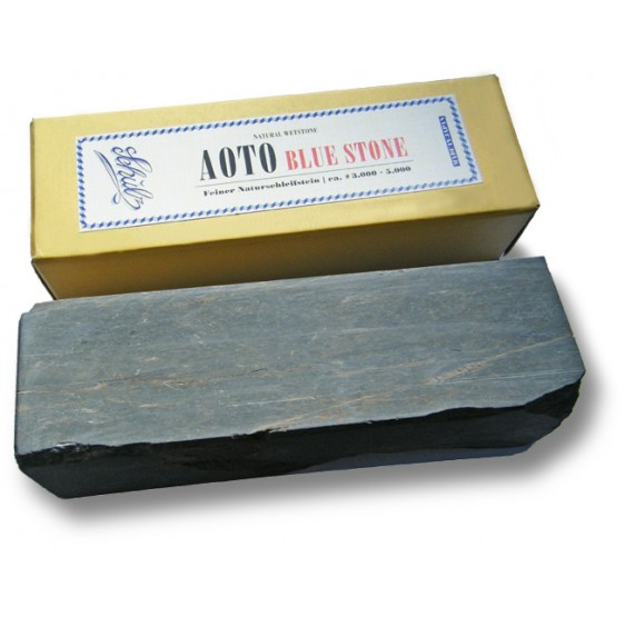 Natural Sharpening stone KOUZAKI AOTO bllue stoner 5000