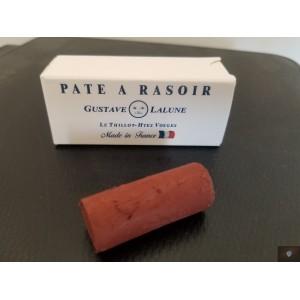 Pâte à rasoir rouge à  oxyde de fer  Gustave Lalune