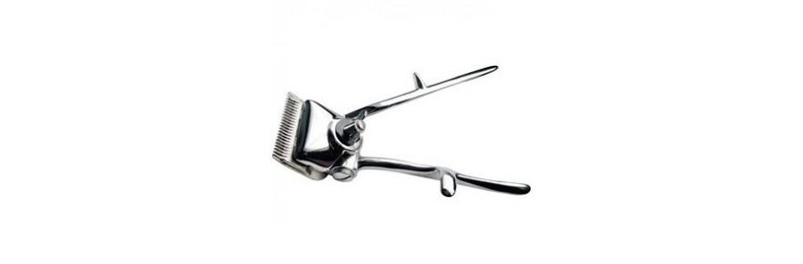 Tondeuse mécanique de coifeur-barbier